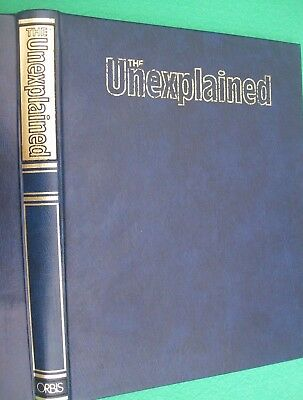 The UNEXPLAINED Magazine. 5 parts in a folder. Mysteries of Mind, Space & Time.