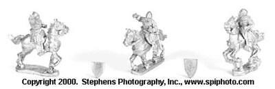 Old Glory Battles of Crecy & Poitiers 25mm Hobilars - Mounted Pack MINT