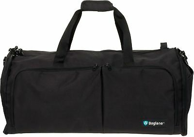 BagLane Suit Garment Bag by Military Travel Duffel Bag Black One Size
