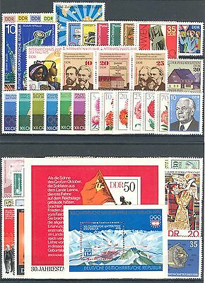 DDR - 1975 complete year MNH