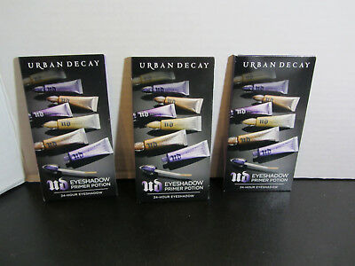NEW Urban Decay Eyeshadow Primer Potion Quad Bubble Sample - LOT OF 3