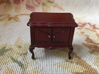 Bluette Meloney Estate Dollhouse Miniatures Table Stand Chest 148