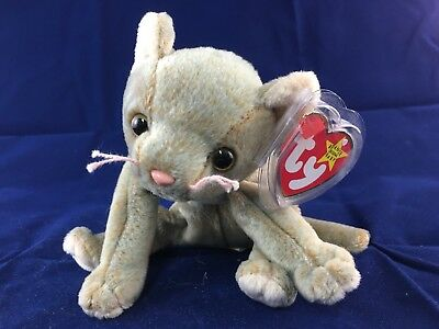 TY Beanie Baby - SCAT the Cat (5.5 inch) - MWMTs Stuffed Animal Toy