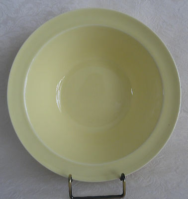 """LuRay  TS&T Large Vegetable Serving Bowl 8 7/8""""  (9"""")  Persian Cream YELLOW"""