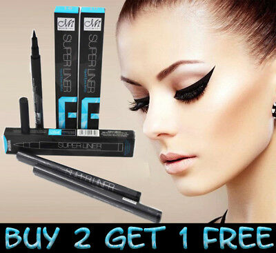 MeNow Black Eyeliner Waterproof Liquid Eye Liner Pencil Pen Make Up Cosmetic