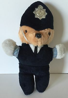 Vintage UK Sweet Dream Police Officer Bear Plush Friend Rexard Sussex England