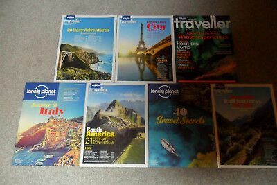 7 LONELY PLANET Magazines From 2014