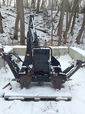 Bradco 11 hd Backhoe Attachment newholland skidsteer