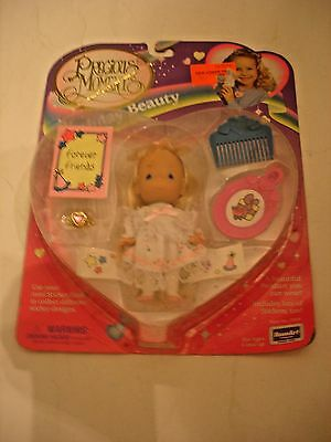 Precious Moments Birthday Beauty Doll & Accessories NEW RoseArt w/ pendant