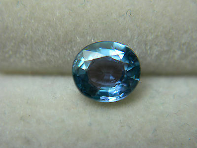 extremely rare Blue Purple Kornerupine gem Green Trichroic Tanzania gemstone