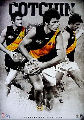 TRENT COTCHIN individual RICHMOND TIGERS Player POSTER