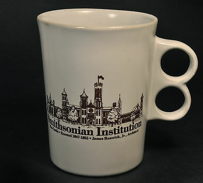 Smithsonian Institution Bennington Potters Trigger 9 Ounces Coffee Mug Cup