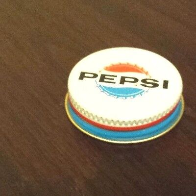 Rare Old Vintage Original Pepsi 1960's Screw On Lid For 1 Gallon Syrup Jug