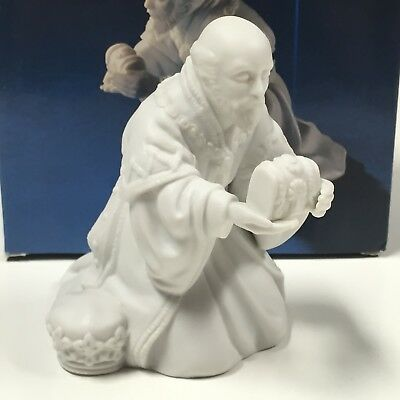 Vintage 1982 AVON Nativity Collectibles - The Magi Melchior Porcelain Figurine