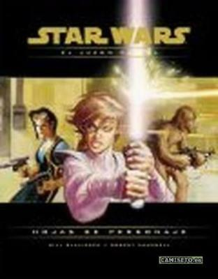 WOTC Star Wars d20 For Hojas de Personaje (Character Record Sheets) (Span SC SW