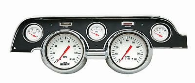 1967-1968 Ford Mustang Direct Fit Gauge White Hot MU67WH