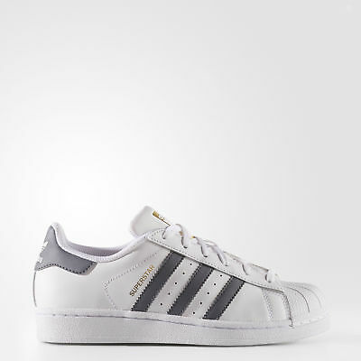 New adidas Originals Superstar Shoes S81016 Kids' White Sneakers