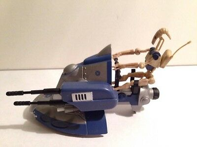 Star Wars Clone Wars Armored Scout Tank with Battle Droid