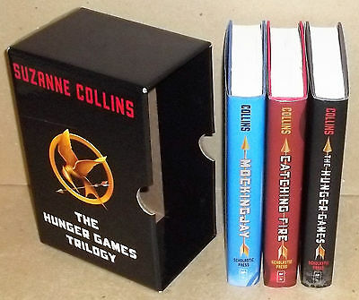 Nice Boxed Set Of The Hunger Games Trilogy By Scholastic Press Hardcovers