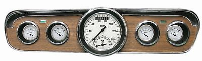 1965-1966 Ford Mustang Direct Fit Gauge White Hot MU65WH35