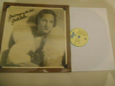 LP Schlager Greta Keller - Great Songs Of The 30ths (14 Song) STANYAN REC / US