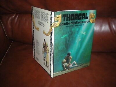 Thorgal N°12 La Cite Du Dieu Perdu - Edition Originale Octobre 1987