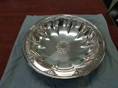 Vtg Antique Tiffany & Co. Makers Sterling Silver Bowl / Centerpiece 20645 G