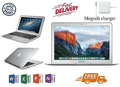 """Apple MacBook Air 11.6"""" Core i5 (2014) - 4GB RAM - 128SSD, (WITH OFFICE) A GRADE"""