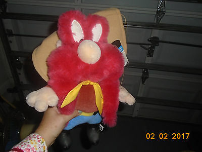 NWT 1997 1998 LARGE Warner Bros Yosemite Sam Plush Hanna Barbera 18""