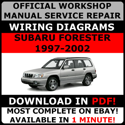 SUBARU FORESTER - Workshop, Service, Repair Manual - EUR 29,95