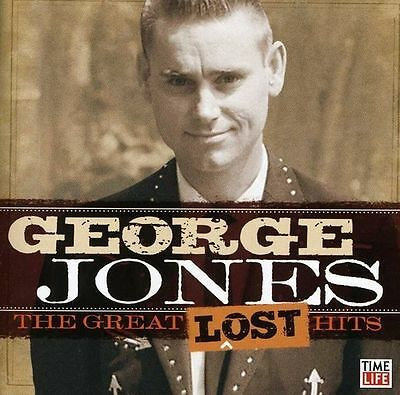 The Great Lost Hits [1-CD] by George Jones (CD, 2012, Time/Life Music)  LIKE NEW