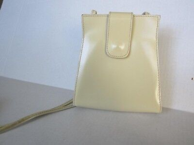 Vintage Mod Leather Purse, Fabian Made in Italy