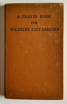 WWII A Prayer Book For Soldiers And Sailors