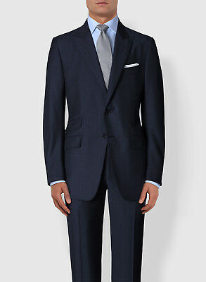 NEW Blue TOM FORD Suit O'Connor Fit Peak Lapel Wool 38 R/48 R $5870 S-3
