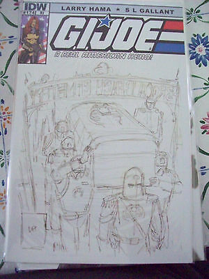 G.I. JOE A Real American Hero # 174 RI cover IDW