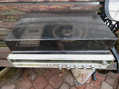 Vintage Sears AM FM Stereo System w/ 8-track & Cassette *Local Only Houston, TX