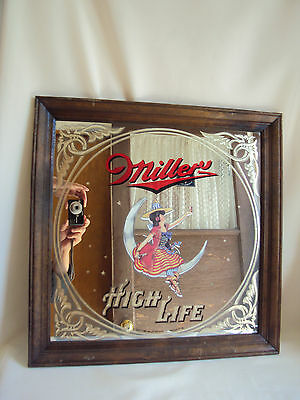 Collectible Miller High Life Beer Sign