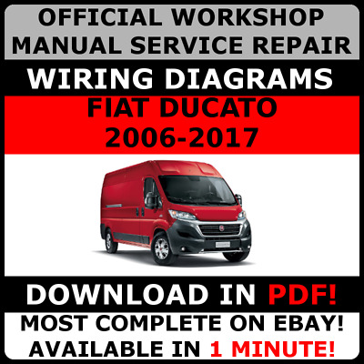# OFFICIAL WORKSHOP Service Repair MANUAL FIAT DUCATO 2006-2016 +WIRING #