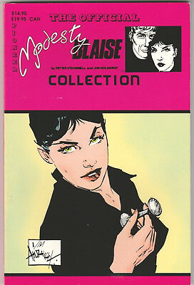 Official Modesty Blaise Collection TPB #1 VF+ 1989 Pioneer King Comics O'Donnell