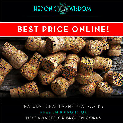 CHAMPAGNE CORKS  - any crafts. Fast Dispatch UK