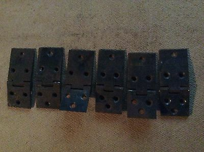 VIctorian iron (BUTT HINGES ) ideal for cupboard doors ect  ect