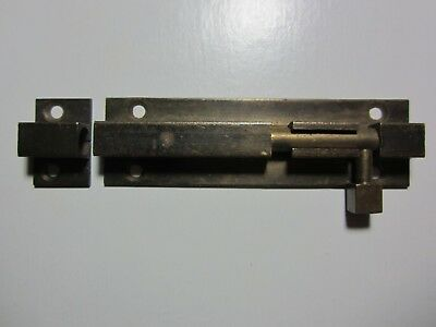 vintage - BRASS DOOR LATCH / LOCK - Mission Arts and & Crafts HARDWARE