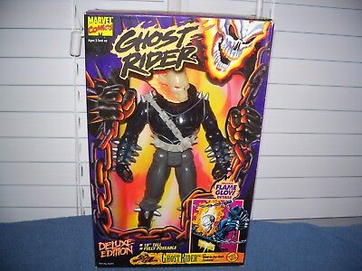 Vintage 1995 Ghost Rider Deluxe Edition w/ Glame Glow by Toy Biz