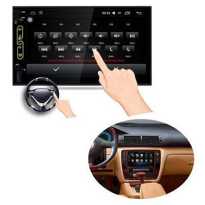 """2DIN 7"""" FHD Capacitive Screen WiFi Bluetooth Car Android 6.0 GPS Navi MP5 Player"""