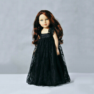 Trendy Princess Lace Dress Skirt for 18'' American Girl Our Generation Dolls