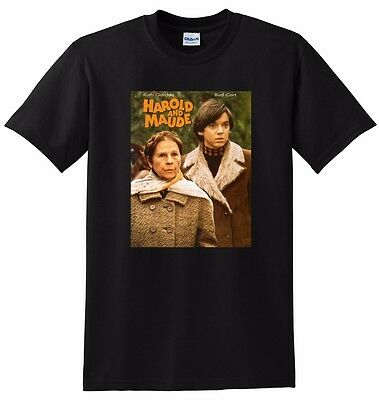HAROLD AND MAUDE T SHIRT bluray dvd poster tee season SMALL MEDIUM LARGE XL