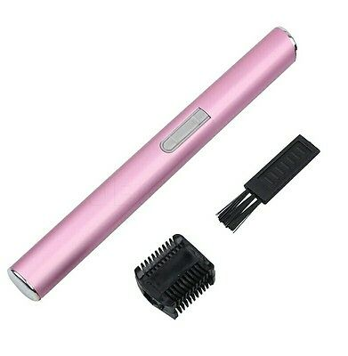 Electric Face Eyebrow Hair Trimmer Mini Portable Women Body Shaver Remover