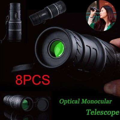 8 PC 40X60 Focus Zoom Outdoor Waterproof Handheld HD Monocular Telescope 2018 AS