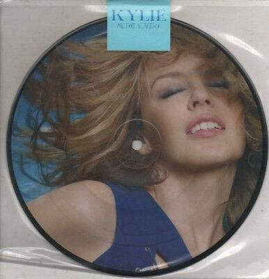 """KYLIE MINOGUE   Rare 2010 UK Only 7"""" Mint Picture Disc Single """"All The Lovers"""""""