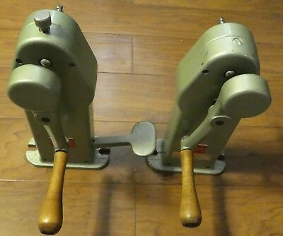 Moviola  Film Rewinds for 16mm Film with Arm Brake - Right Handed - Serviced